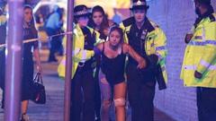 英国曼彻斯特体育场爆炸现场