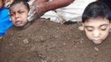 印度为每年活埋100多名儿童