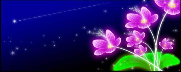 Photoshop滤镜教程-打造奇丽花朵